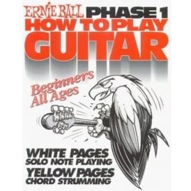Ernie Ball 7001 Book Learn How to Play Guitar Phase 1 for Beginners