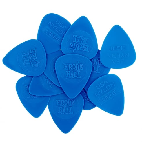 Ernie Ball 9136 Nylon Picks 12-Pack Thin