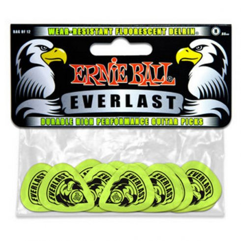 Ernie Ball 9191 Everlast Guitar Picks 12-Pack Heavy