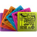Ernie Ball Drinks Coasters Guitar Gift Set Slinky Regular Super Power Skinny