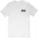 Ernie Ball Eagle V-Neck T-Shirt, White
