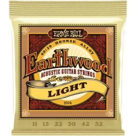 Earthwood 2004 80/20 Bronze Acoustic Guitar Strings 11-52 Light