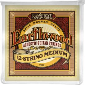 Earthwood 2012 80/20 Bronze Acoustic Guitar Strings 11-52 12-String Medium