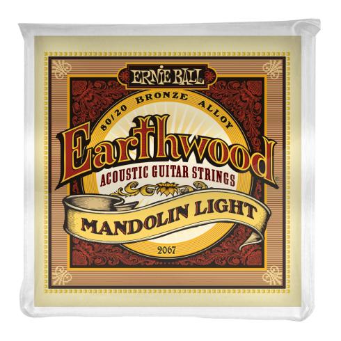 Ernie Ball Earthwood 2067 Mandolin Light Loop End Guitar Strings 9-34 Gauge