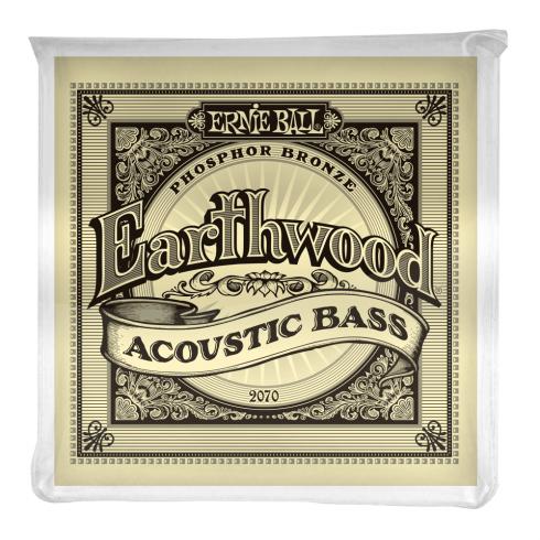 Ernie Ball Earthwood 4-String Phosphor Bronze Acoustic Bass String 45-95 Gauge 2070