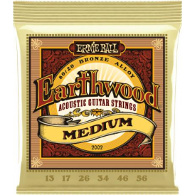 Earthwood Medium 80/20 Bronze 2002 Acoustic Guitar Strings 13-56
