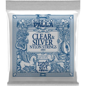 Ernie Ball Ernesto Palla Nylon Clear & Silver Classical 2403 Guitar Strings