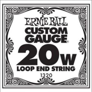 Ernie Ball 1320 Nickel Wound Loop End Single String .020