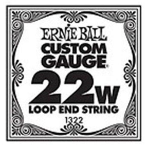 Ernie Ball 1322 Nickel Wound Loop End Single String .022