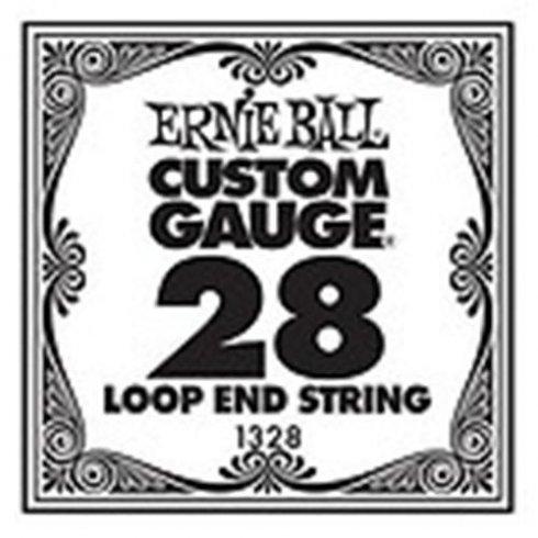Ernie Ball 1328 Nickel Wound Loop End Single String .028