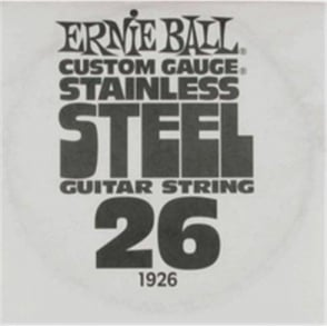 Ernie Ball Stainless Steel Single String .026
