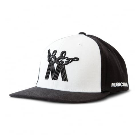 Official Music Man Black & White Large/XL Cap