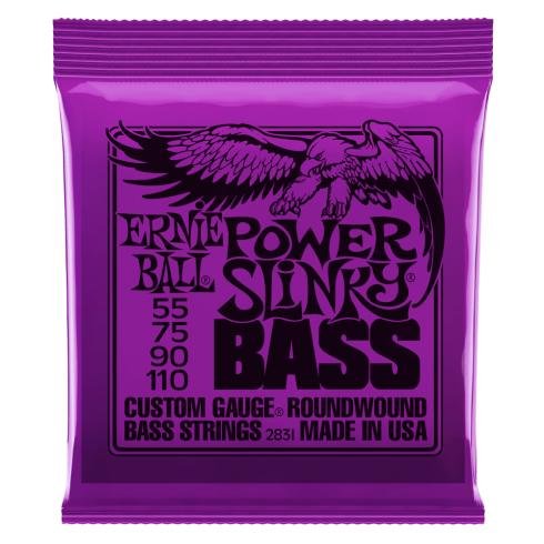 Ernie Ball Power Slinky 55-110 Nickel Wound Electric Bass Strings