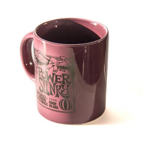 Ernie Ball Power Slinky Electric Guitar Strings Coffee & Tea Mug