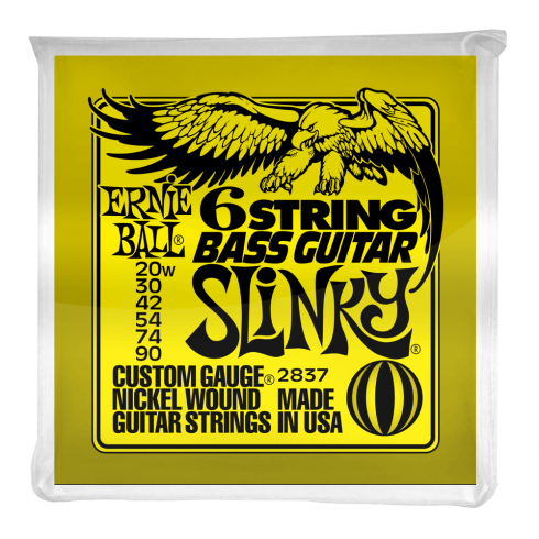 Ernie Ball Silhouette 20-90 Nickel 6-String Baritone Guitar Strings