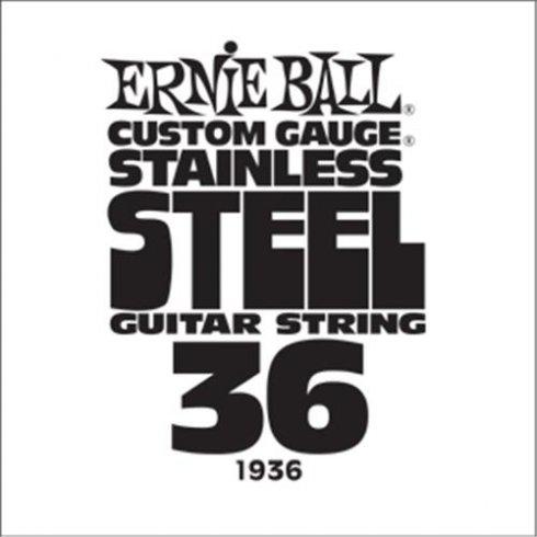 Ernie Ball Stainless Steel Single Guitar String .036
