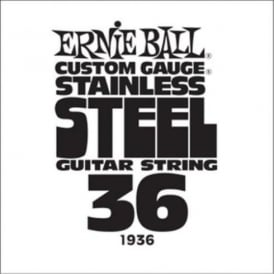 Ernie Ball Stainless Steel Single Guitar String .036
