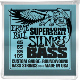 Ernie Ball Super Long Slinky 45-105 Nickel Wound Bass Strings