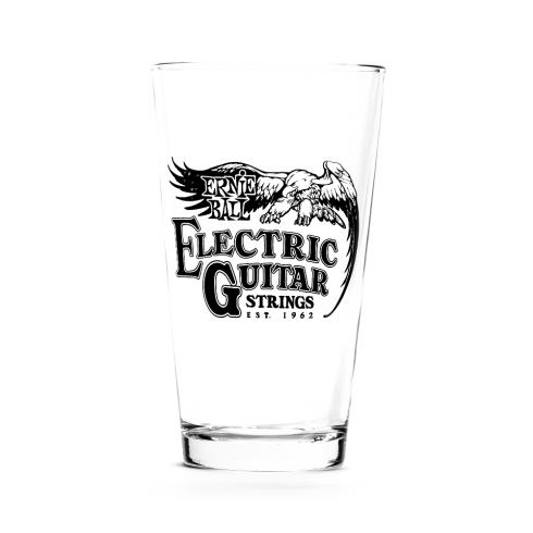 Ernie Ball Vintage Logo Pint Glass