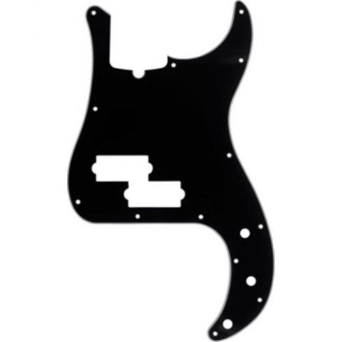 Fender 13-Hole Modern Style Precision Bass 3-Ply BWB Pickguard (with Truss Rod Notch)