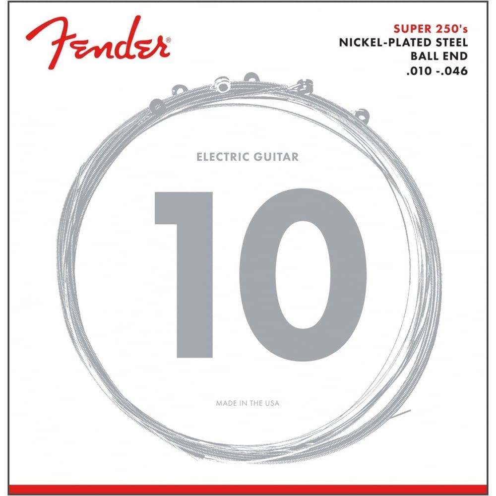 Fender 250R Nickel Wound 10-46 Electric Guitar Strings