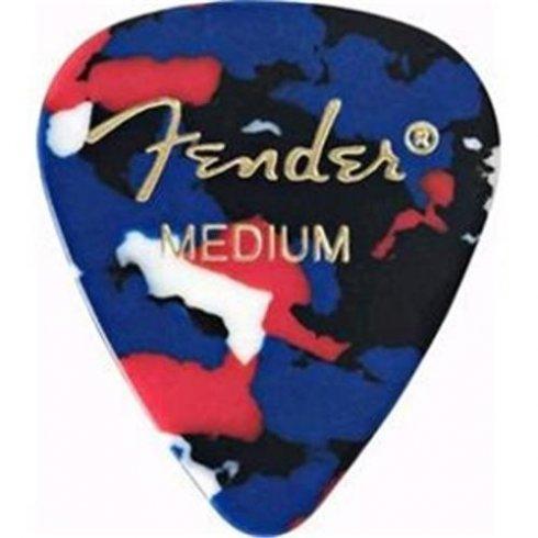 Fender 351 Classic Celluloid Picks 12-Pack (Confetti) Heavy