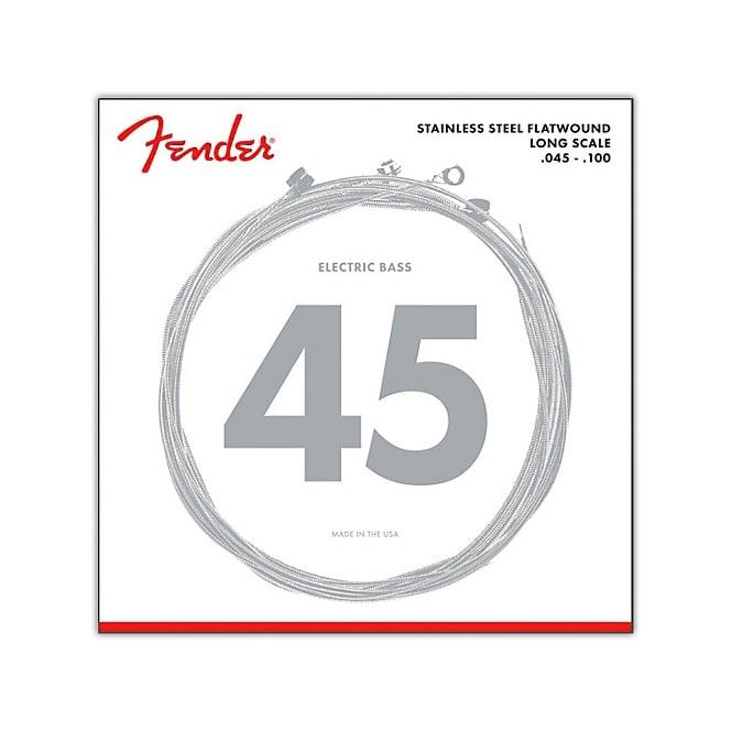 fender 9050l stainless steel flatwound bass guitar strings 45 100. Black Bedroom Furniture Sets. Home Design Ideas