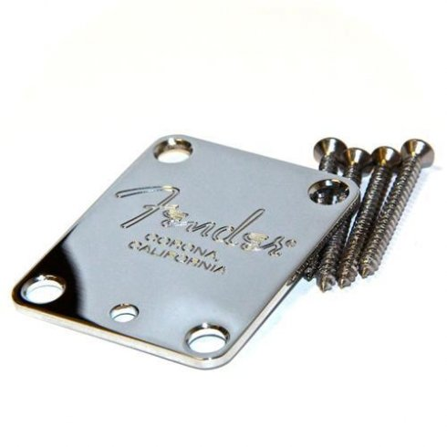 Fender American Standard Chrome Neck Plate