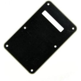 Fender Backplate for Stratocaster, 3-Ply Black/White/Black 099-1322-000