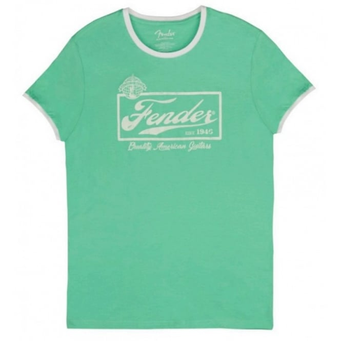 Beer Label Surf Green T-Shirt - Medium