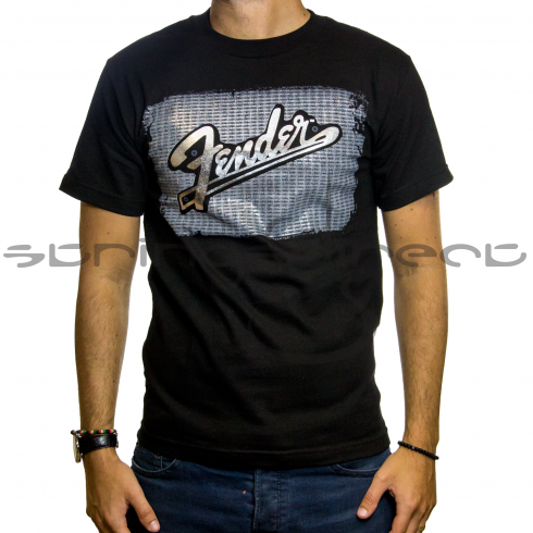 Fender Black Amplifier T-Shirt - Large