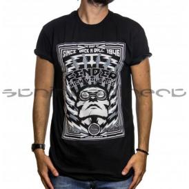 Fender Black High Voltage T-Shirt - Size Extra-Large