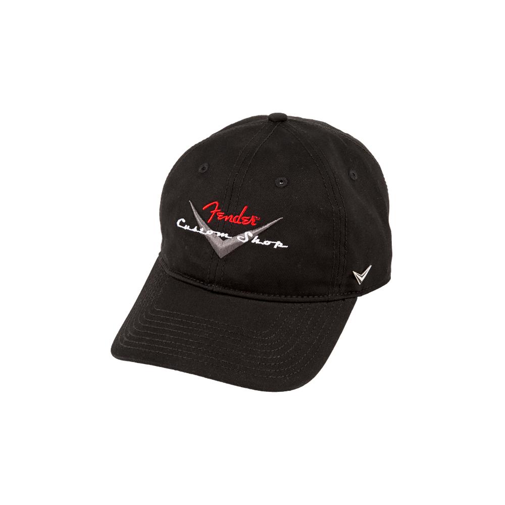 3b9e089f730 Fender Genuine Custom Shop Black Baseball Hat 910-6635-306