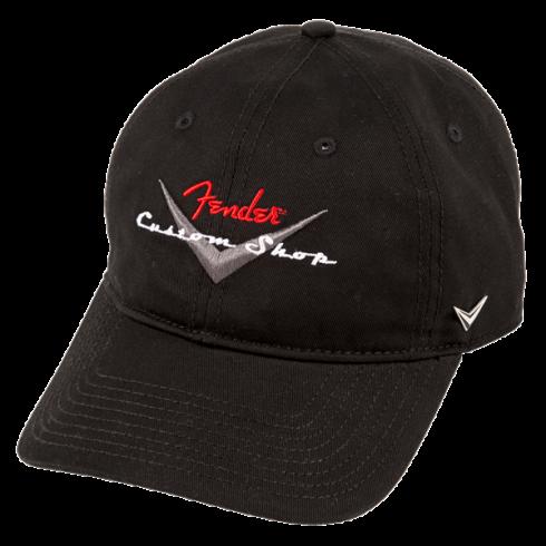 Fender Custom Shop Black Baseball Hat