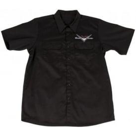 Fender Genuine Custom Shop Black Workshirt Large