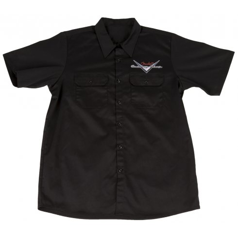 Fender Custom Shop Workshirt, Black, Medium