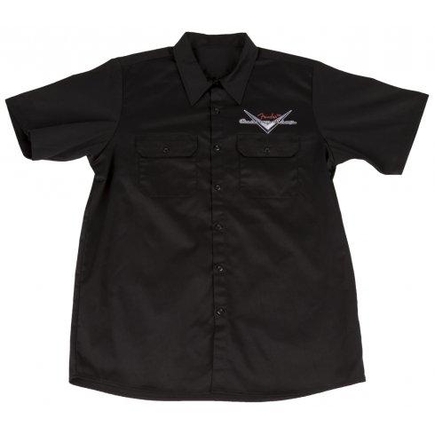 Fender Custom Shop Workshirt, Black, Small