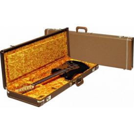 Fender Deluxe Stratocaster/Telecaster Hard Case, Brown