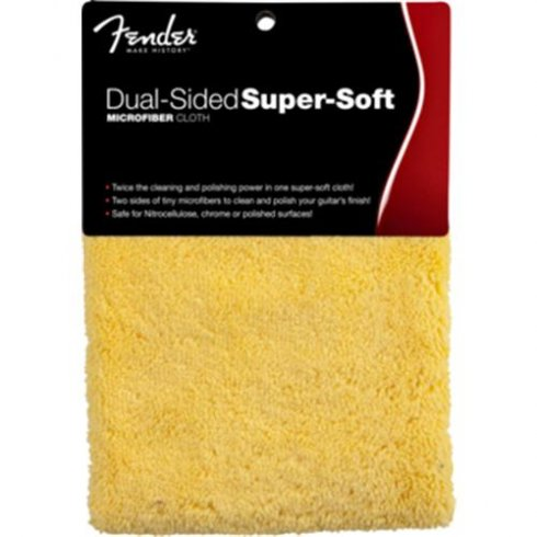 Fender Dual Sided Super Soft Microfiber Cloth 099-0524-000