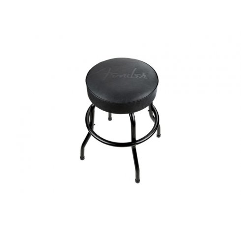 Fender Embossed Logo Black Bar Stool 30 Quot Tall 910 0323 606
