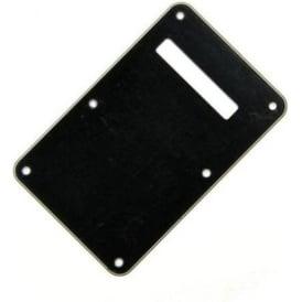 Fender Backplate for Stratocaster, 3-Ply Black/White/Black 099-1322-000