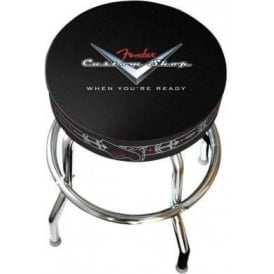 "Fender Genuine Custom Shop Pinstripe Bar Stool 24"" High 099-0230-020"