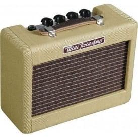 Fender Mini '57 Twin Tweed Electric Guitar Practice Amplifier 023-4811-000