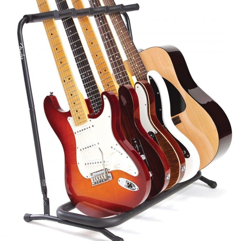 fender genuine 5 way multi guitar stand rack 099 1808 005. Black Bedroom Furniture Sets. Home Design Ideas