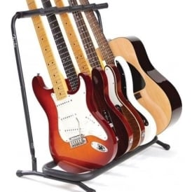 Fender Genuine 5-Way Multi Guitar Stand Rack 099-1808-005 for Electric, Acoustic or Bass Guitar