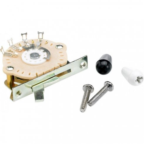 Fender Genuine 5-Way Selector Switch for Electric Guitar