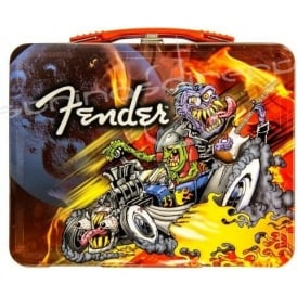 Fender Genuine Animated Rockabilly Guitar Lunchbox 910-0293-506
