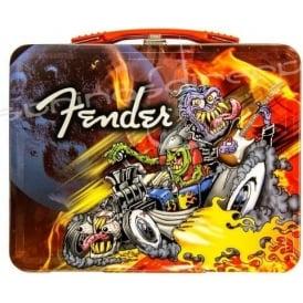 Fender Genuine Animated Rockabilly Guitar Lunchbox 910-0293-506