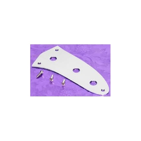 Fender Genuine Control Plate for Mustang Bass - Chrome