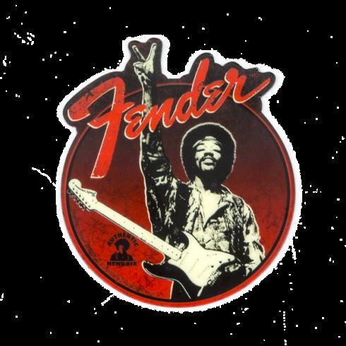 Fender Genuine Hendrix Peace Sign Design Magnet 910-0277-000